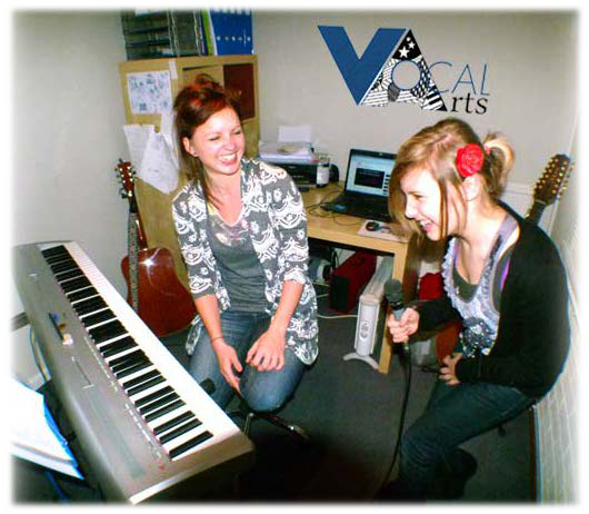 Another happy student at Vocal Arts Exeter